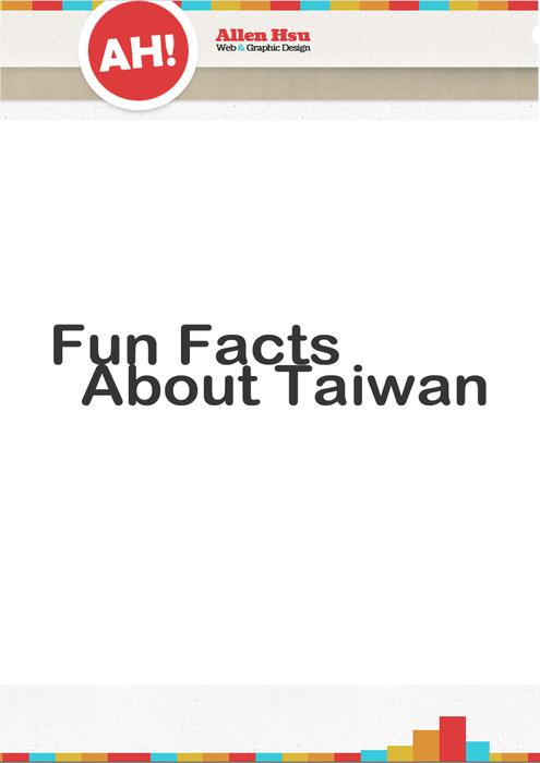 10 Fun Facts about Taiwan