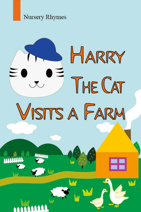 Harry the cat visits a farm